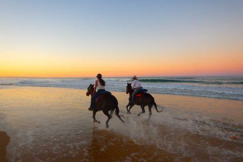 Horse riding Rainbow Beach