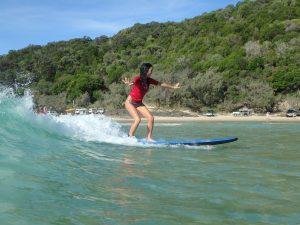 Surf School tour rainbow beach