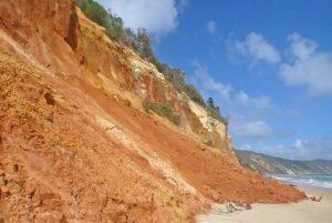 Rainbow Beach Coloured Sands Double Island Point
