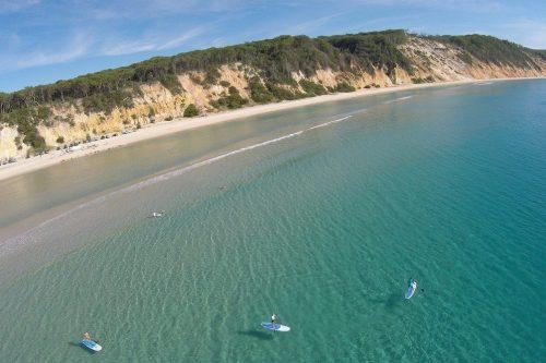 stand up paddle rainbow beach tour
